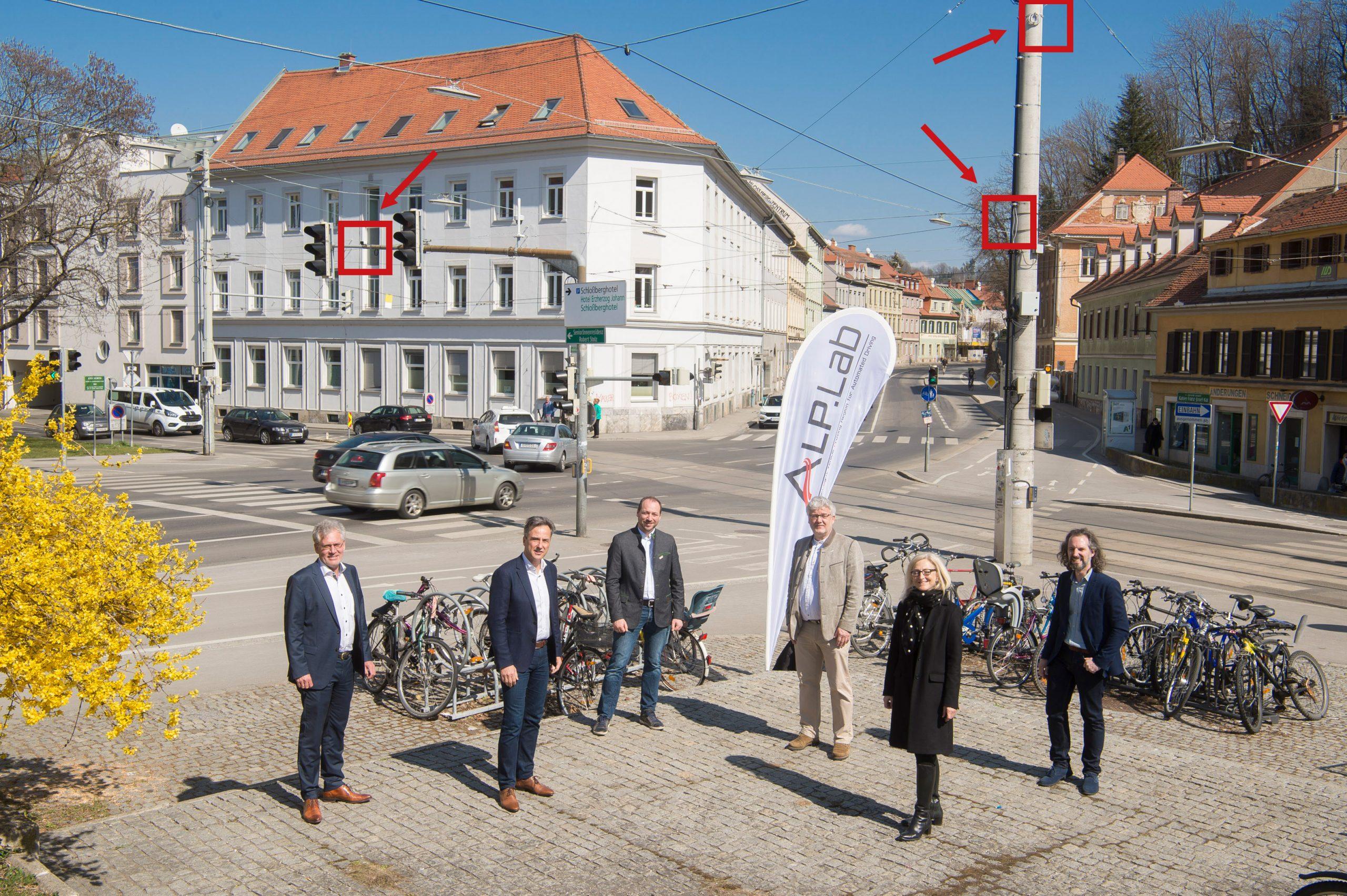 Sensor System in Graz
